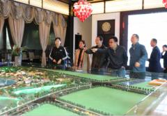 国家旅游局原副局长吴文学一行考察六安·兴茂国